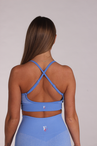 Azul Sports Bra - FITTgymwear