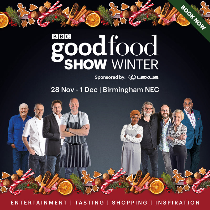 We're on the road again - BBC Good Food Show 2019