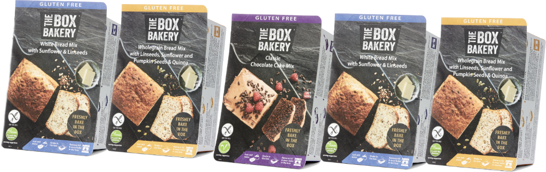 Gluten Free Mixed Case (5 Products)