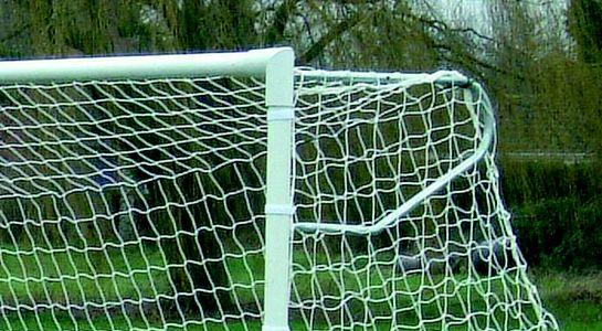 Full Size Biodegradable Continental Football Goal Nets
