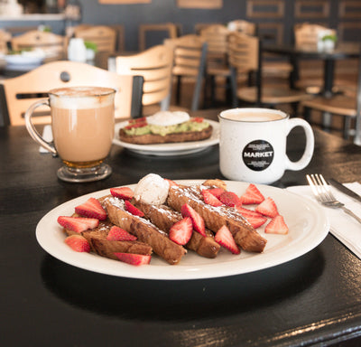 Brioche French Toast with Coffee & Tea