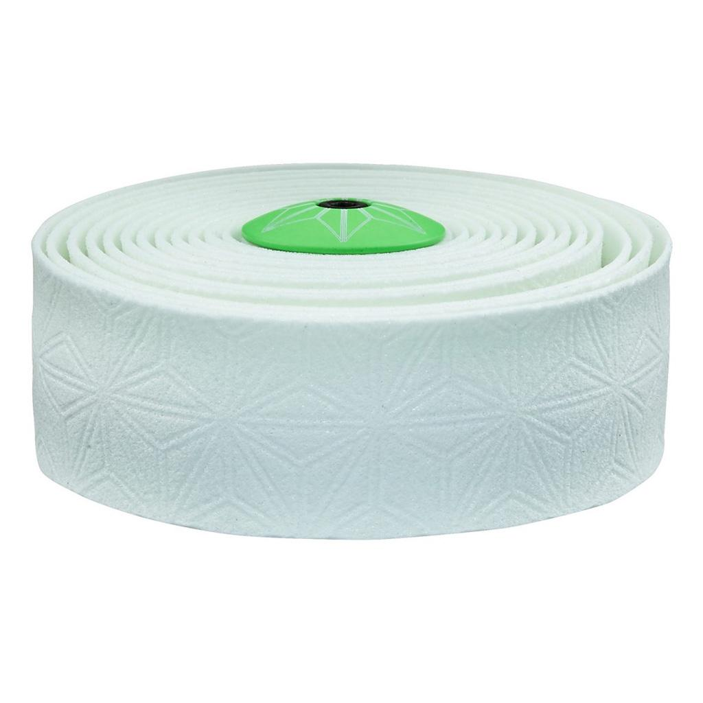 Supacaz - Super Kush Suave Glow in the Dark Bar Tape with Green Plugs