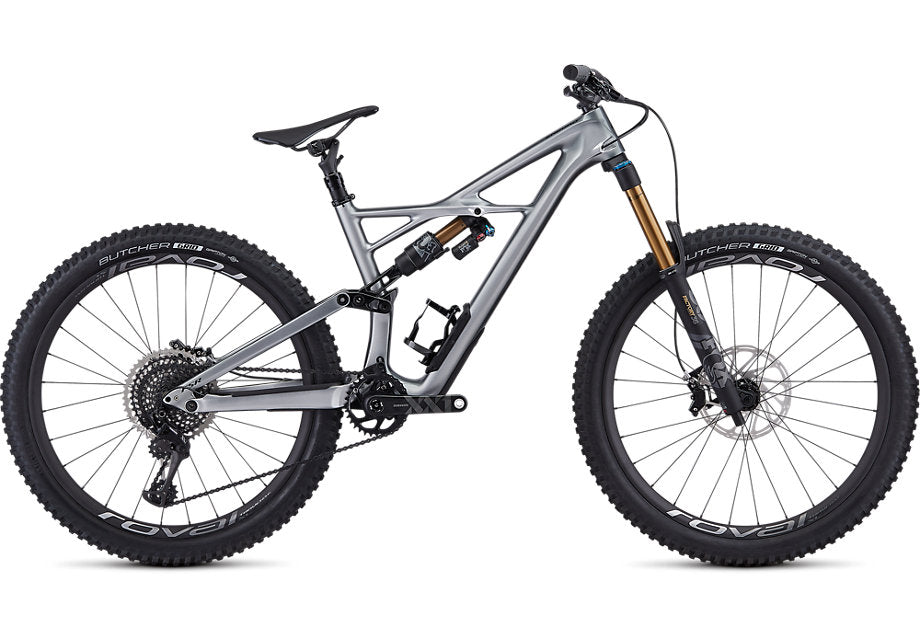 Specialized - S-Works Enduro 27.5 - 2019 - Gloss Flake Silver Form Fade / Tarmac Black