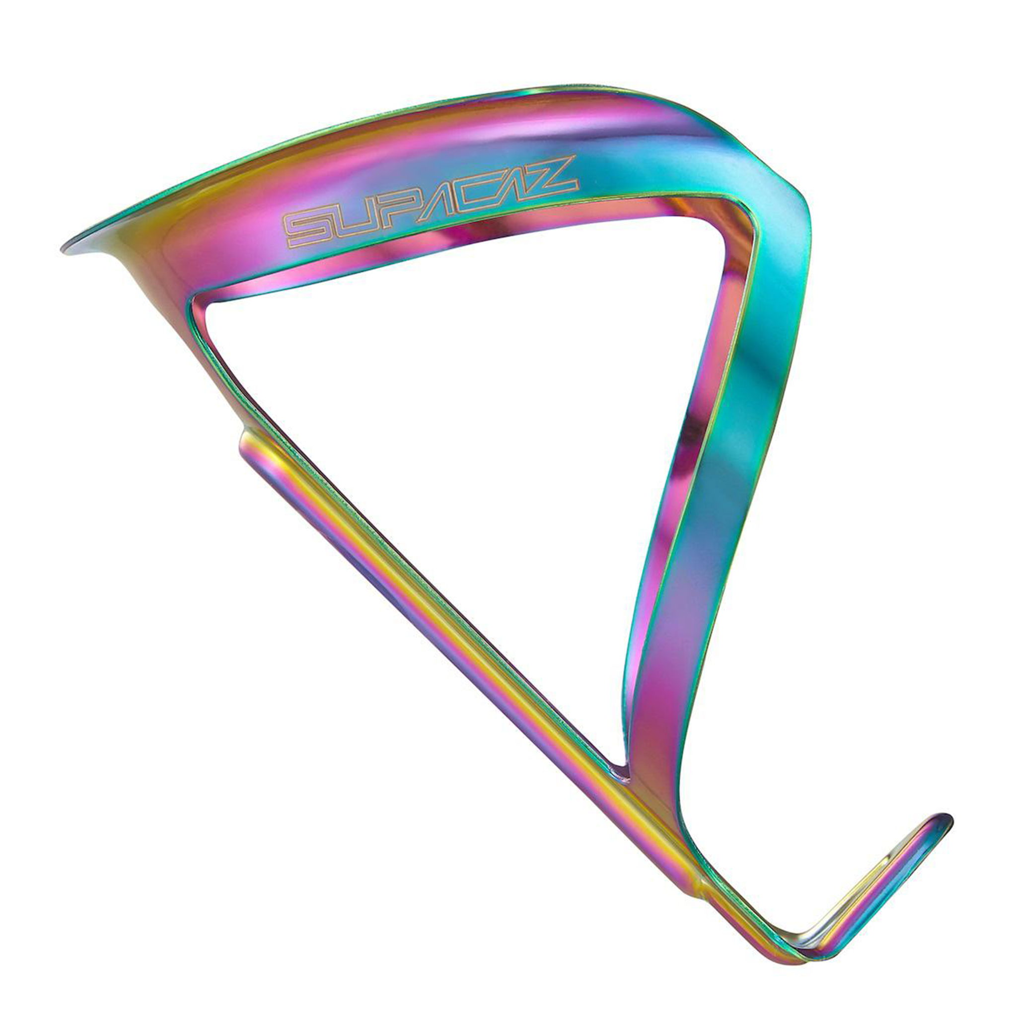 Supacaz Bottle Cage - Fly Ano Alloy Oil Slick
