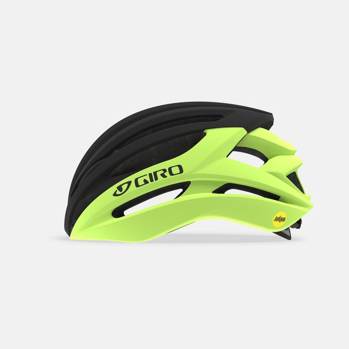 Giro Road Helmet Syntax Mips - Black / Yellow