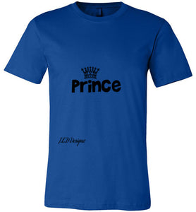 "All Year Round ""Prince"" Canvas Tshirt - J.E.D. Designz"