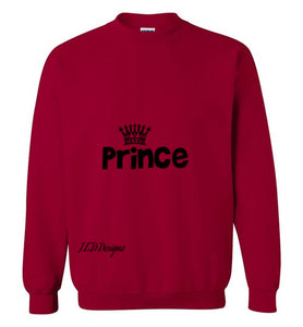 Ready for The Fall or Winter Prince Sweatshirt - J.E.D. Designz
