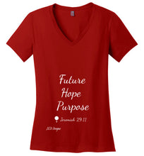 "Load image into Gallery viewer, Simply Me ""Future Hope Purpose"" Tshirt - J.E.D. Designz"