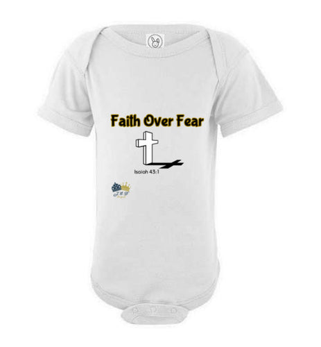 Faith Over Fear (Minnie Me) Onesie (Exclusive)