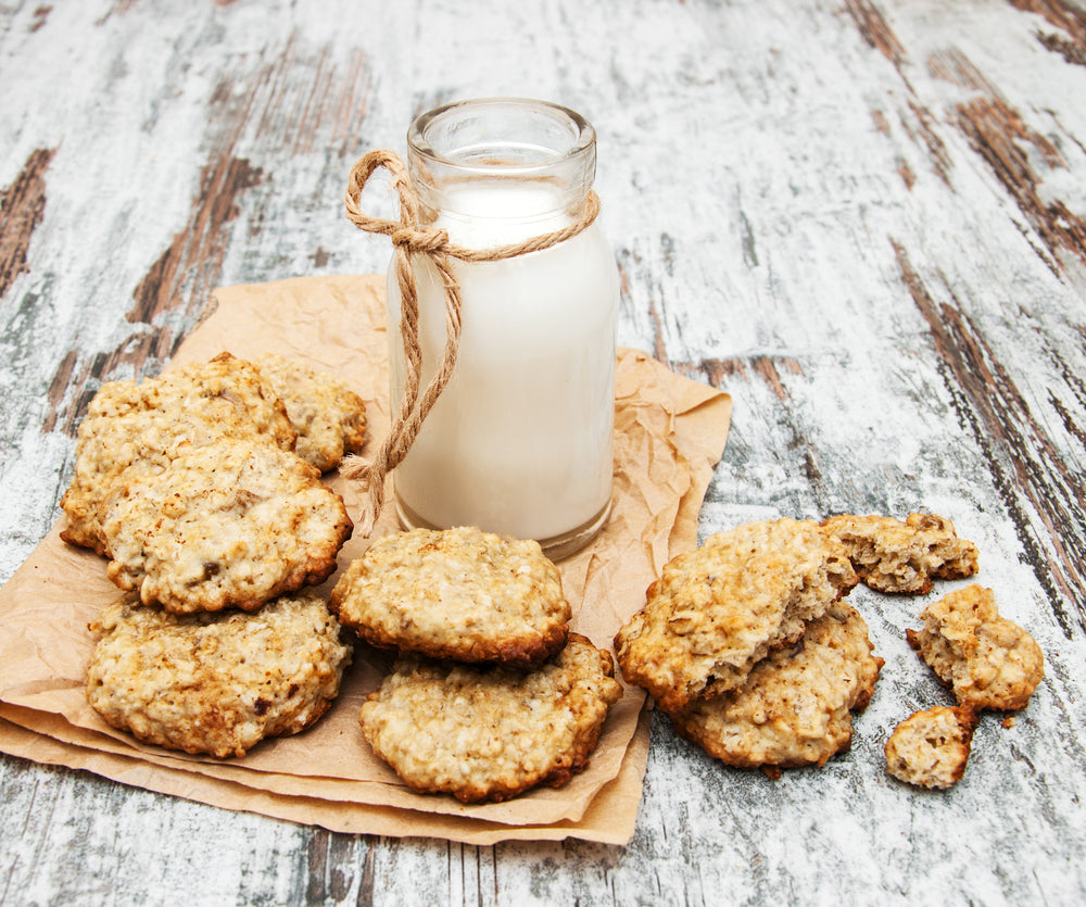Oatmeal Maple Cookies with Walnuts