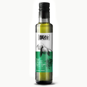 Basil Infused Organic Extra Virgin Olive Oil