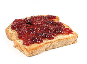 Blackberry Jam with Toast