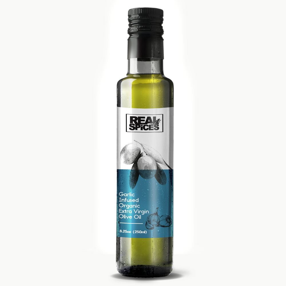 Garlic Infused Organic Extra Virgin Olive Oil