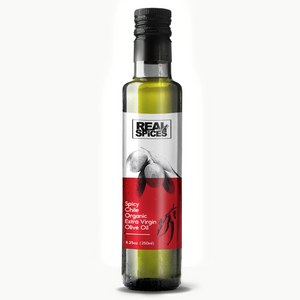 Spicy Chile Infused Organic Extra Virgin Olive Oil