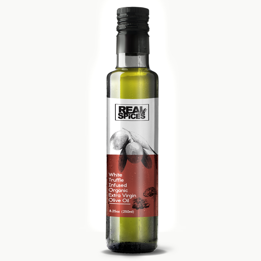 Real Spices - White Truffle Infused Organic Extra Virgin Olive Oil