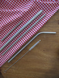 Stainless Steel Straw and Cleaning Wands