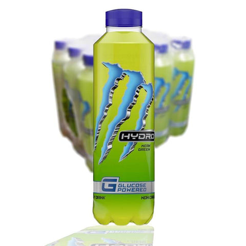 Monster Hydro Mean Green 55Cl 12 St + Pa