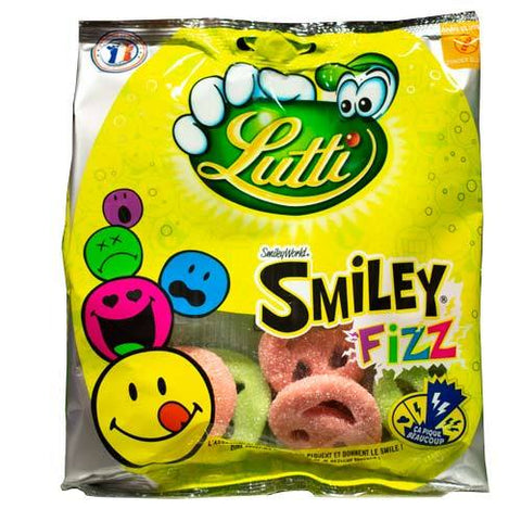 Lutti Smiley Fizz 90G