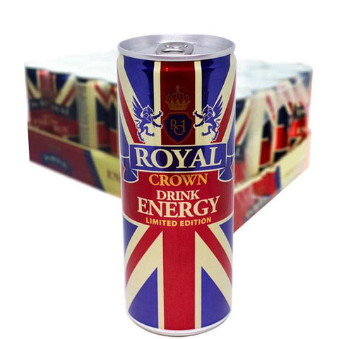 Royal Crown Energy 25 Cl X 24 St, inkl pant