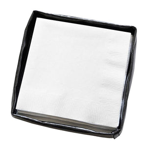Cocktail Napkin Holder - Black