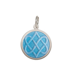 Celtic Knot Light Blue Medium
