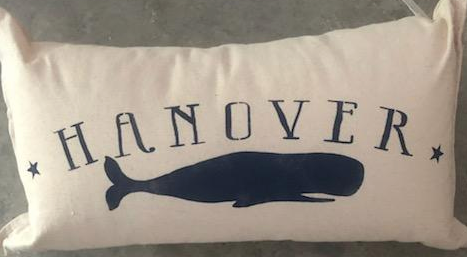 HANOVER WHALE PILLOW