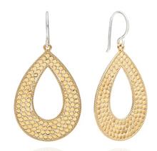 Load image into Gallery viewer, Large Open Drop Earrings