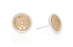 Dish Stud Earrings