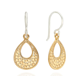 Small Open Drop Earrings