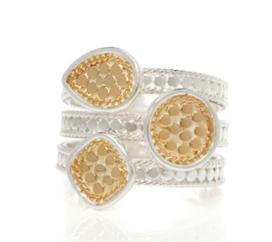 "Classic ""faux"" Stacking Ring"