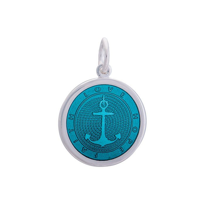 Anchor Teal Small