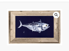 Load image into Gallery viewer, Gyotaku FISH 6X8 Framed