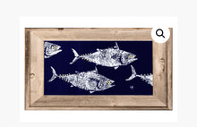 Load image into Gallery viewer, Gyotaku 16x22 Framed Sealife