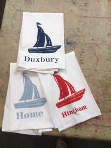 Boat kitchen towel