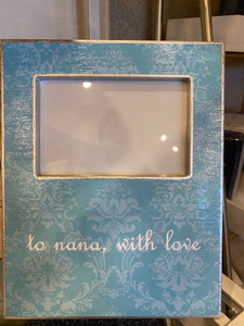 Decoupage picture frame