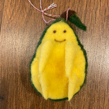 Load image into Gallery viewer, Avocado ornament