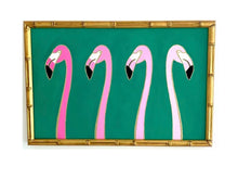Load image into Gallery viewer, 11x17  Flamingos