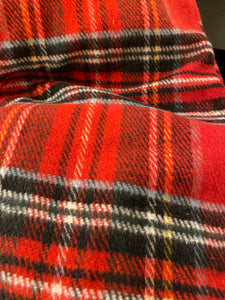 RECYCLED Tartan Throw