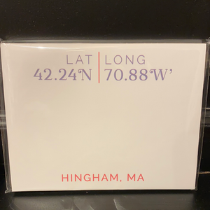 LAT/LONG NOTEPAD