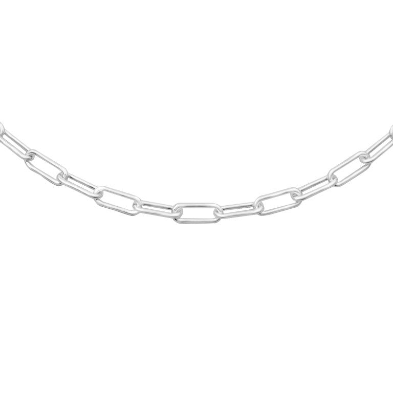 Silver Oval Chain 3.5mm 24