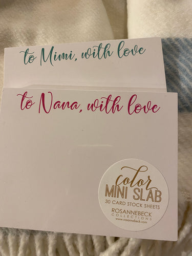 With Love NotePad