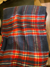 Load image into Gallery viewer, RECYCLED Tartan Throw