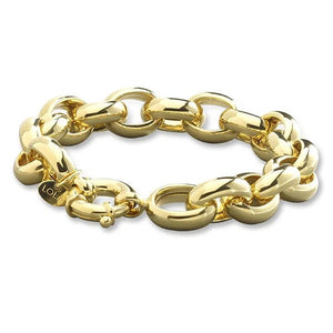 Rolo Link 13mm Gold 7.5""