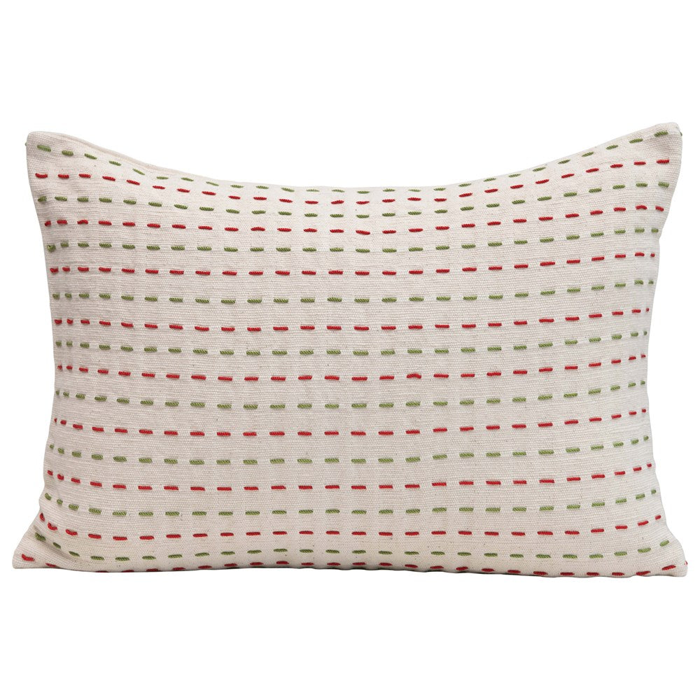 Kantha Stitch Pillows