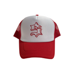 S LOGO TRUCKER HAT