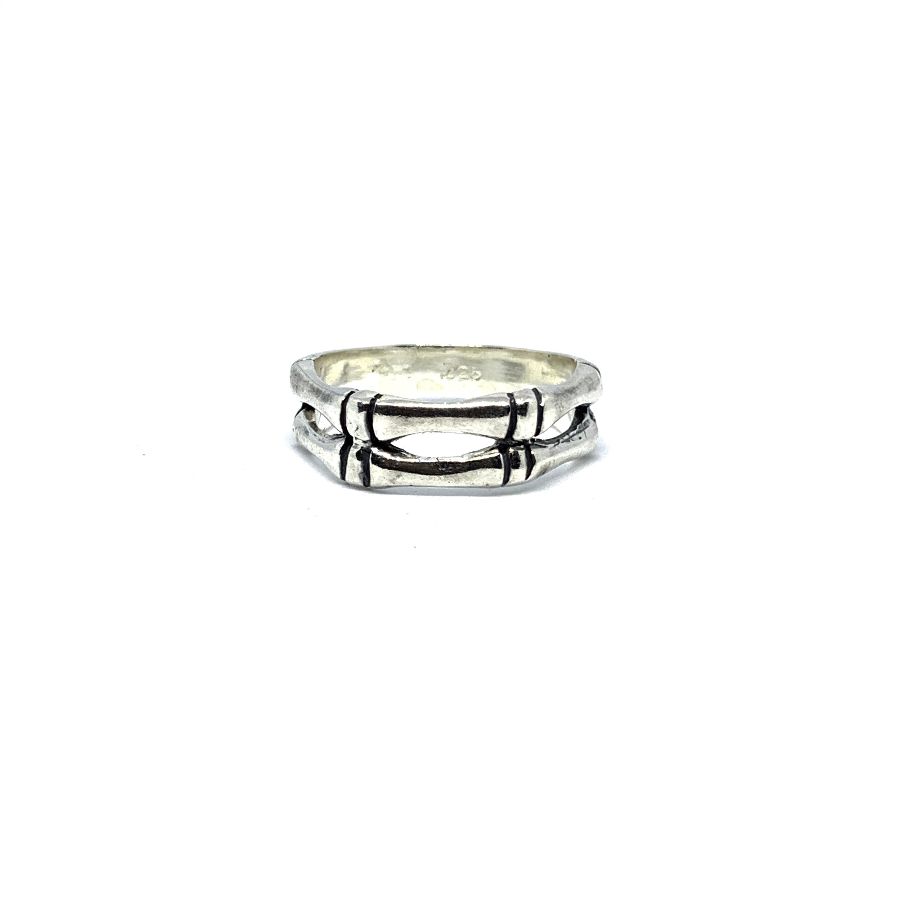 STERLING SILVER BONE RING - SEAMS JEWELRY