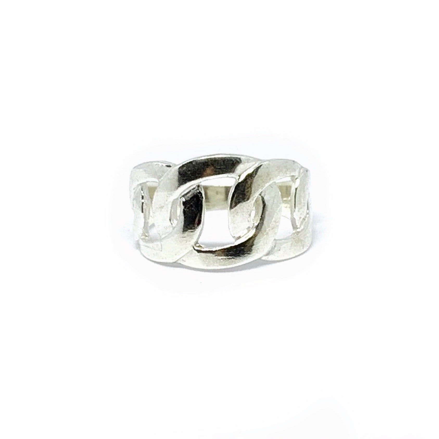 Handcrafted Sterling SIlver | Chain Link Ring | SEAMS Jewelry