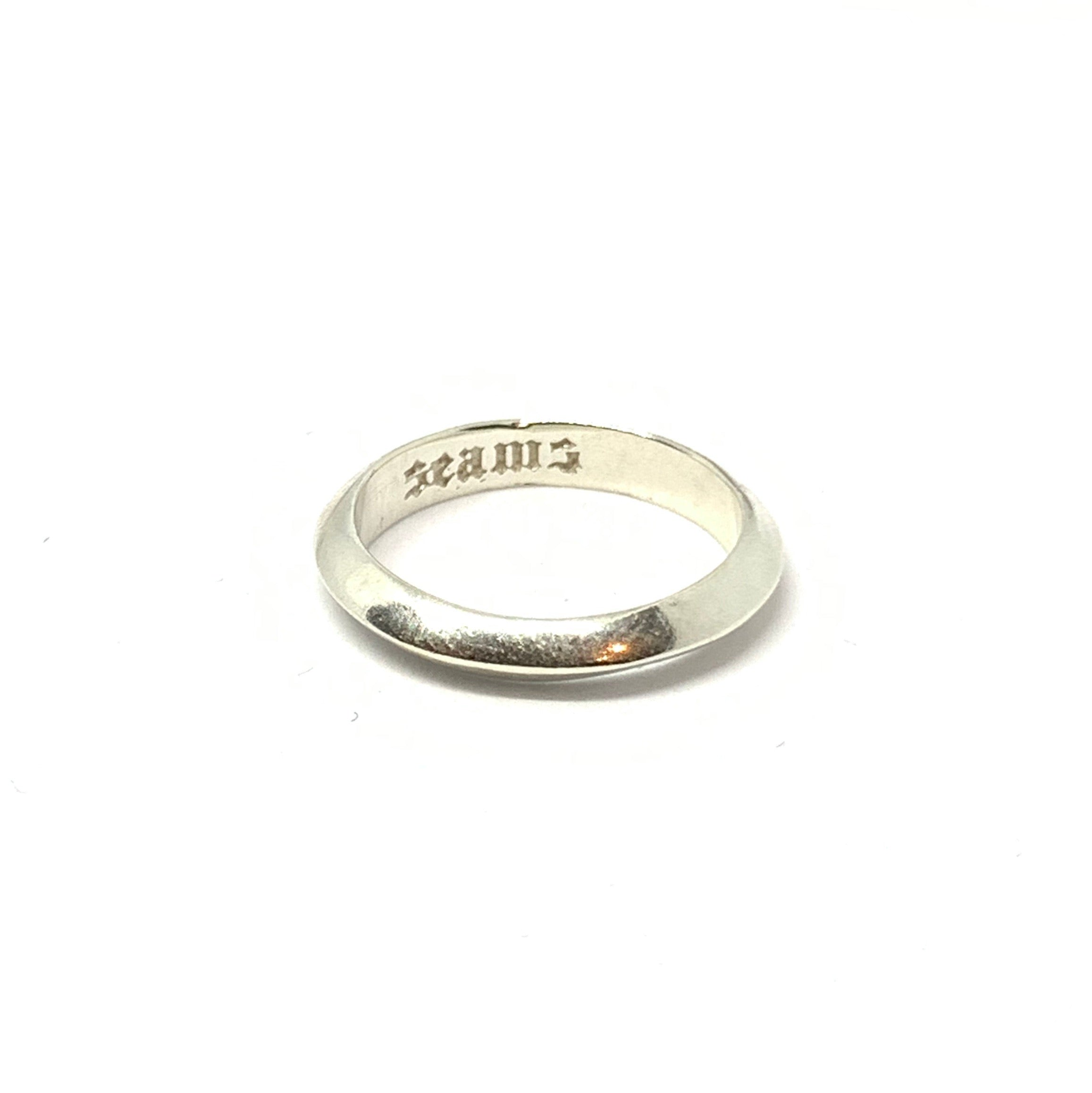 Handcrafted Sterling Silver | UFO Ring | SEAMS Jewelry