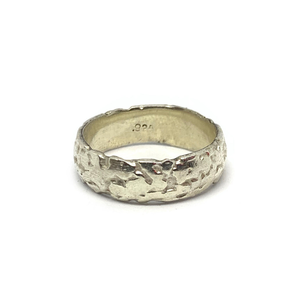 STERLING SILVER VOID RING