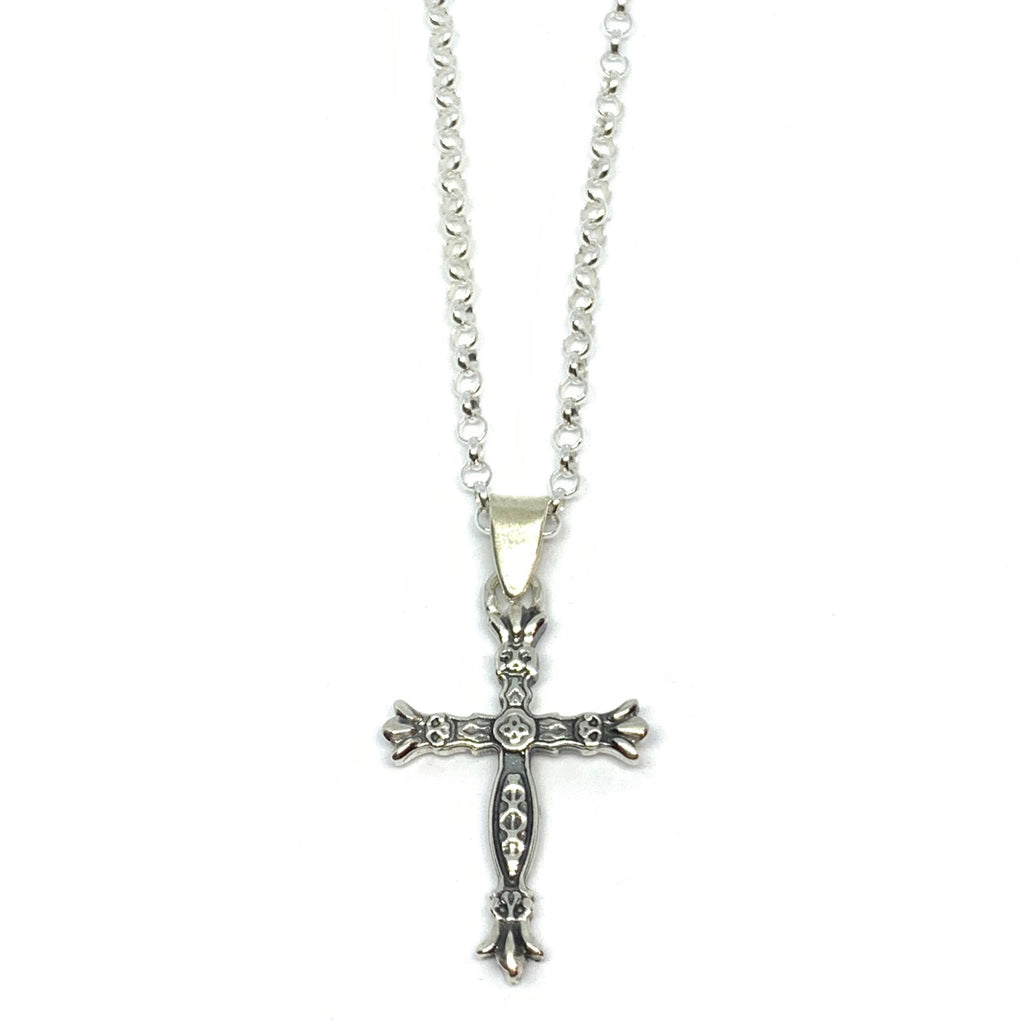 STERLING SILVER CROIX NECKLACE